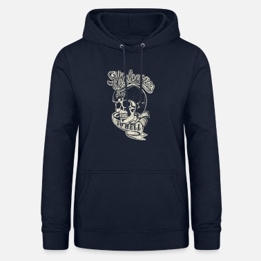 Highway To Hell Highway to hell, Schädeldesign - Frauen Hoodie