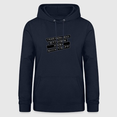 Motive for cities and countries - AURORA - Women's Hoodie