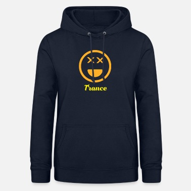 Trance Trance Music Logo Smiley - Gift - Women's Hoodie