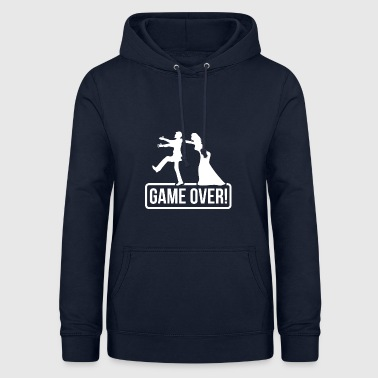 Groom JGA Game over Bride Groom - Women's Hoodie