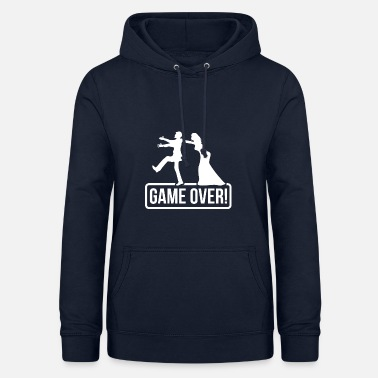 Bride And Groom JGA Game over Bride Groom - Women's Hoodie