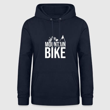 Biking Mountain bike mountains - Women's Hoodie