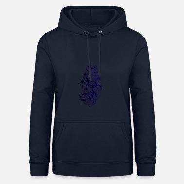 Abstrakte Kunst abstract line - Frauen Hoodie