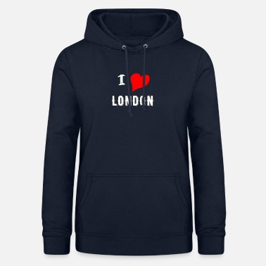 I Love London I Love London - Felpa con cappuccio da donna