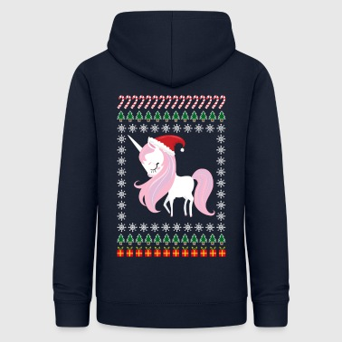 Ugly Christmas Unicorn - Women's Hoodie