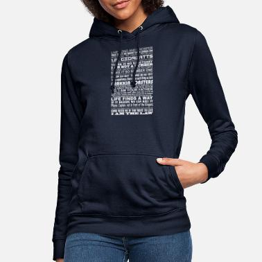 Fantasy Sci Fi Quotes - Women's Hoodie