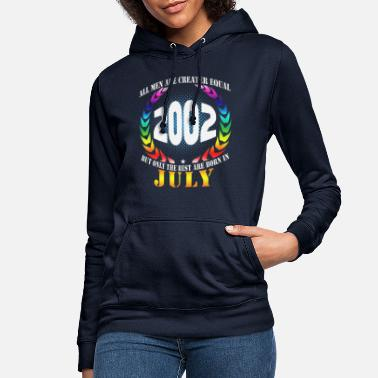 July 2002 July 18th birthday gift - Women's Hoodie