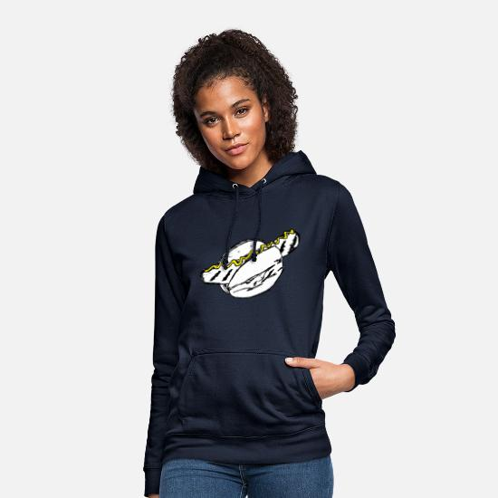 Fast Food Hoodies & Sweatshirts - A sausage - Women's Hoodie navy