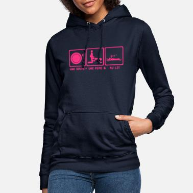 Bed Soup bed bed pipe blowjob2 - Women's Hoodie