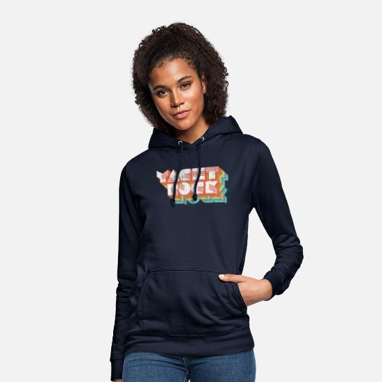 Sound Hoodies & Sweatshirts - Vintage Fade Yacht Rock Party Boat Drinking - Women's Hoodie navy