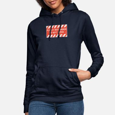 Flight Data Recorder FDR and CVR - Flight Recorder - Do Not Open - Women's Hoodie