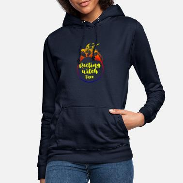 Resting witch face, gifts for halloween - Women's Hoodie