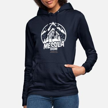 Ski Resort messilä suomi ski resort - Frauen Hoodie
