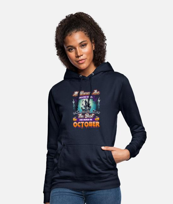 Bats Hoodies & Sweatshirts - Women design for Birthdays in October - Halloween - Women's Hoodie navy