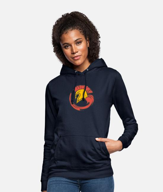 Sparta Hoodies & Sweatshirts - Sparta! New design - Leibl Designs - Women's Hoodie navy