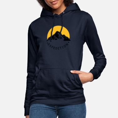 Expedition mountain expedition - Women's Hoodie