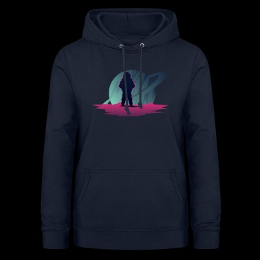 Explorer - Planet Looking - Women's Hoodie