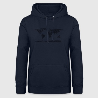 map of the world - Women's Hoodie