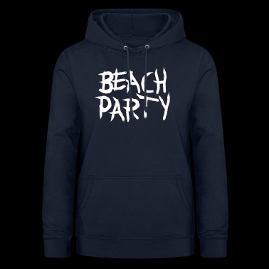 BEACHPARTY_PINSEL - Bluza damska z kapturem