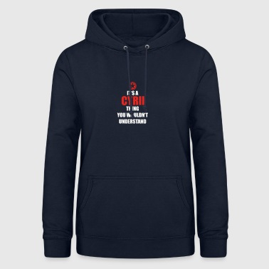 Gift it a thing birthday understand CYRIL - Women's Hoodie