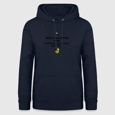 Weird faces in pictures - Frauen Hoodie