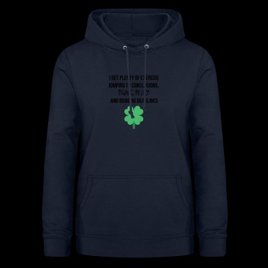 Plenty of exercise - Women's Hoodie