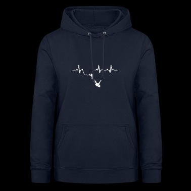 Heartbeats Bungee Jumping Recreational Sports - Women's Hoodie