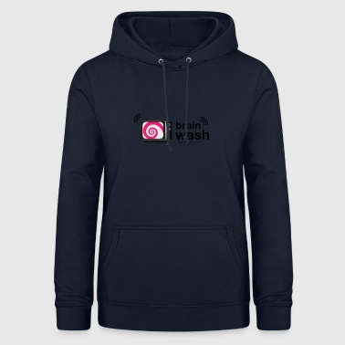 Brainwashed by television - Women's Hoodie