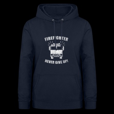 Firefighter Fire Department Fire Engine Fire Rescue - Women's Hoodie