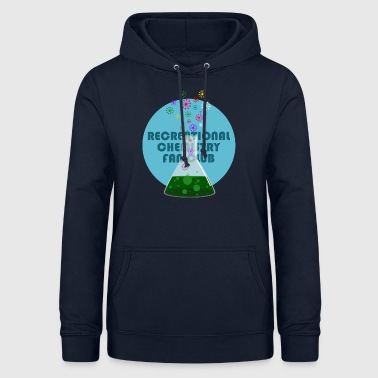 Recreational Chemistry Fan Club (blue) - Women's Hoodie