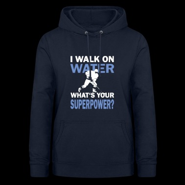 Hockey hockey water running saying funny - Women's Hoodie