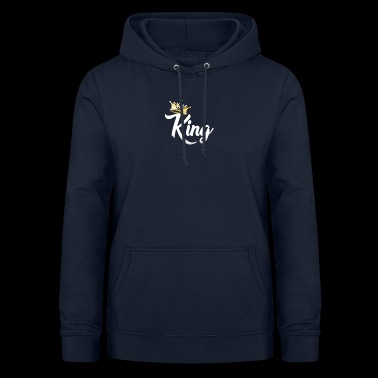 King,Royal Prince,Kings and Queens Matching Couple - Women's Hoodie