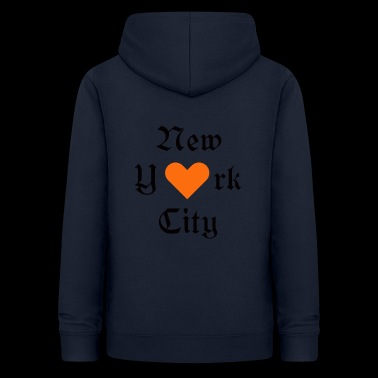New York, York, New York, Ville, I Love you - Sweat à capuche Femme
