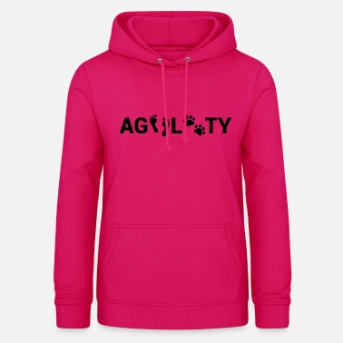 Agility Foot & Paw Agility - Vrouwen hoodie