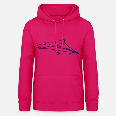 Paper Paper paper airplane plane - Women's Hoodie