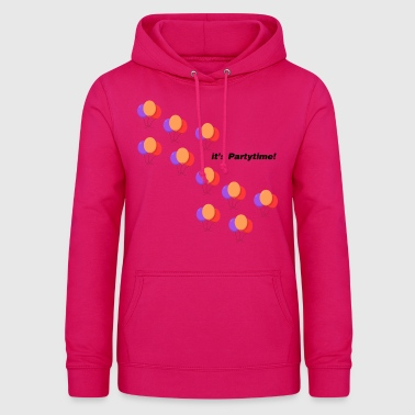 Party Party Time - Vrouwen hoodie