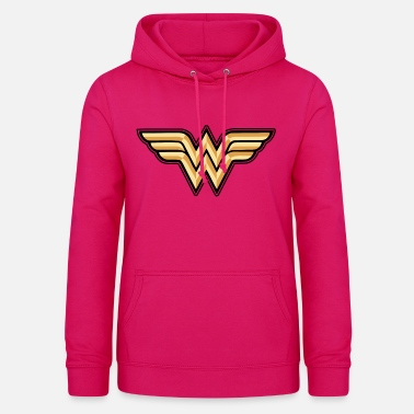 DC Comics Wonder Woman Logo Original - Frauen Hoodie