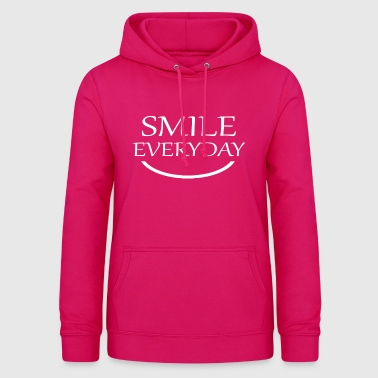 Smile Everyday smile everyday - Women's Hoodie