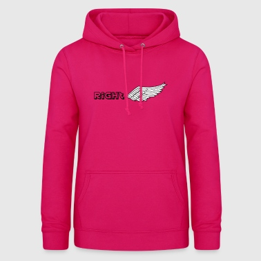 Right wing - Women's Hoodie