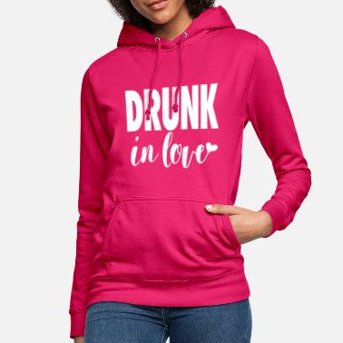 Drunk in Love - Party Shirt- Bachelorette Bachelor - Frauen Hoodie