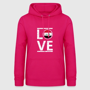 roots love home origin queen iraq - Women's Hoodie