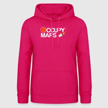 Occupy Mars Planet Space - Women's Hoodie