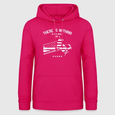 USA: Nothing In Like A Massachusetts Girl Gift - Women's Hoodie