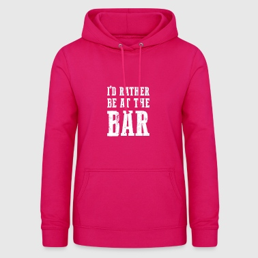 Au cadeau The Bar pour les amateurs de bars - Sweat à capuche Femme