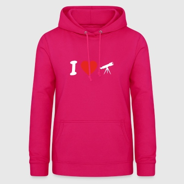 I love astronomy astronomy png - Women's Hoodie