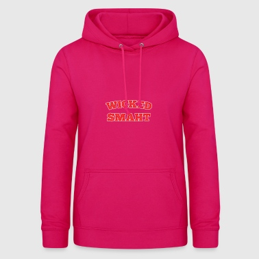 Smaht gift for Funny People - Women's Hoodie
