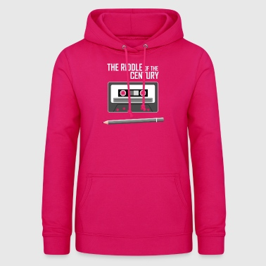 Cassette Tape - The Riddle of the Century - Women's Hoodie
