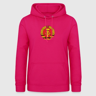 National Coat Of Arms Of East Germany - Women's Hoodie