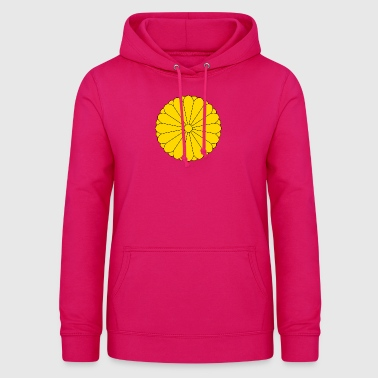 Nationales Emblem von Japan - Frauen Hoodie
