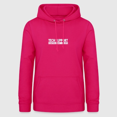 support technique - Sweat à capuche Femme
